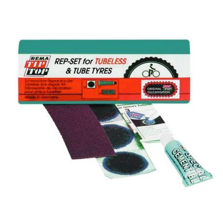 Kit Rema Tip Top riparazione per copertoni con camere d'aria