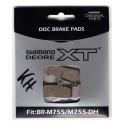 Pastiglie Freno Shimano XT per BR-M755 resin M04