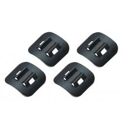 Jagwire supporto da telaio per C-clip ( 4 pezzi)