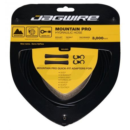 Jagwire Mountain Pro Hydraulisches Brake Hose Set schwarz