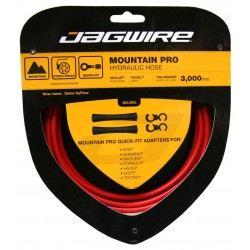Jagwire Mountain Pro Kit cavo idraulico Rosso