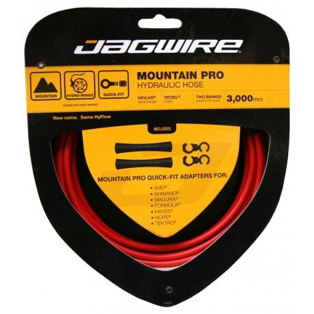 Jagwire Mountain Pro Hydraulic Hose Set red