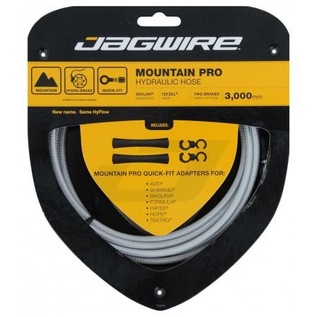 Jagwire Mountain Pro Hydraulic Hose Set silver