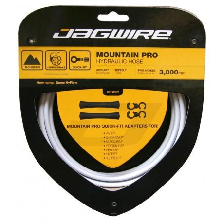 Jagwire Mountain Pro Hydraulic Hose Set white