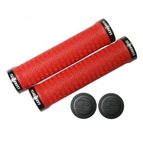 Manopole Lock-On SRAM red