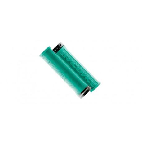 Manopole Lock-On Race Face Half Nelson turquoise