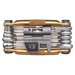 Chiavi Multiuso CrankBrothers Crank Brothers Multi-17 Multitool gold