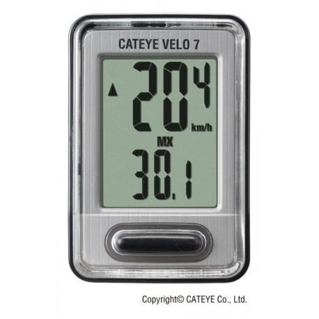Ciclocomputer con filo Cateye Velo 7 CC-VL520