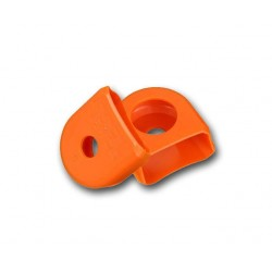 Race Face Crank Boot small orange