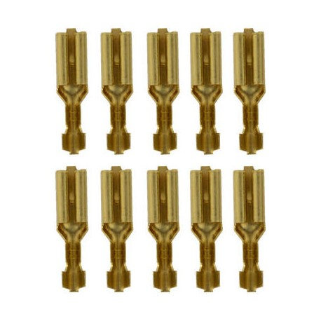 diverse Brass flat connector (10pcs.)