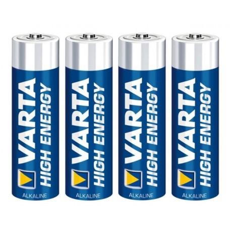 Varta Pila AA High Energy Mignon (4 pezzi)