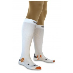 Calze a Compressione X-Socks Bike Energizer White 2 (39-41)