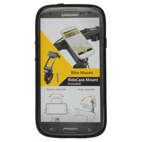 Supporto per Smartphone Topeak for Samsung Galaxy S4 (without bracket) black