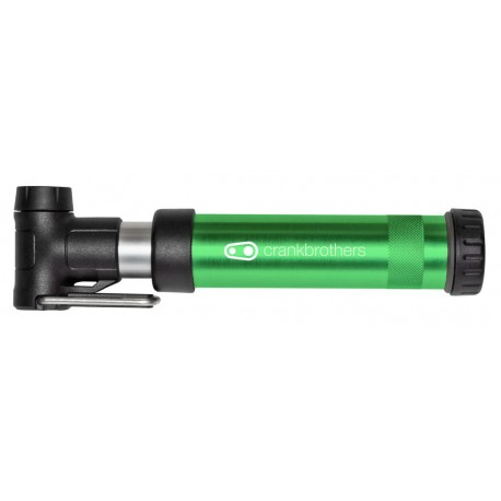 Pompa CrankBrothers Gem S green
