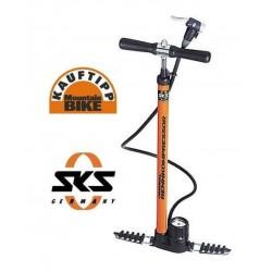 Pompa da Officina SKS Rennkompressor arancio