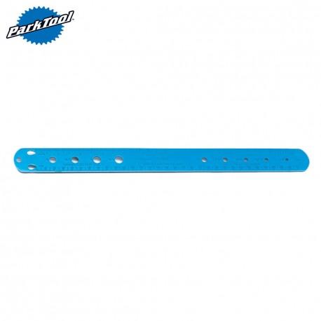 Park Tool SBC-1 Spoke, Bearing, and Cotter Gauge