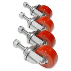 Scicon ruote di ricambio per  AeroComfort (4 pieces)