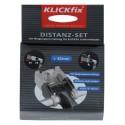 Cestino per Bici Rixen and Kaul KLICKfix Distancer Set for handlebar adapter black
