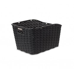 Cestino per Bici Basil Weave WP rear black