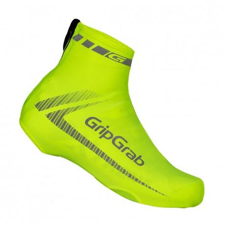 Copriscarpe GripGrab RaceAero Hi-Vis giallo fluo