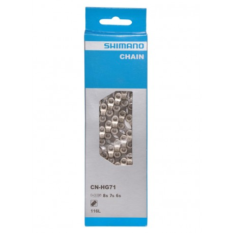 Catena Shimano CN-HG71C 6/7/8-speed 116 Links