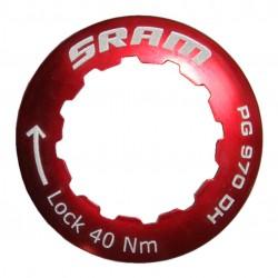 Ghiera di chiusura SRAM per  11t rosso