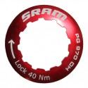 SRAM Lockring for 11t red