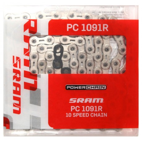 Catena SRAM PowerChain PC-1091R Hollow Pin 10-velocita