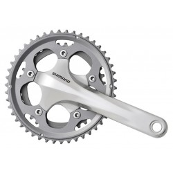 Guarnitura Compact Shimano FC-CX50 Cyclocross 46/36T 175mm without bottom brackets silver
