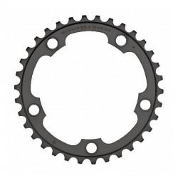 Corona Strada Shimano 105 34t. 10 Velocità FC-5750-L black