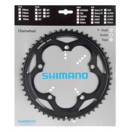 Corona Strada Shimano 105 53 Z 10-speed FC-5700-L black
