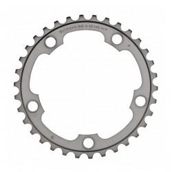 Corona Strada Shimano 105 34t. 10 Velocità FC-5750-S silver