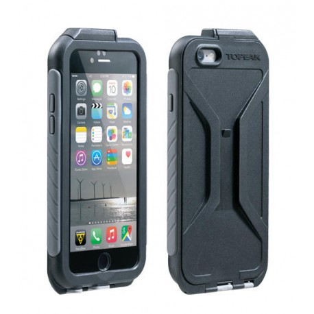 Supporto per Smartphone Topeak Weatherproof RideCase for iPhone 6 + Holder grey