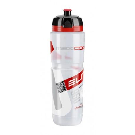 Borraccia Elite Maxicorsa 1000ml clear/red