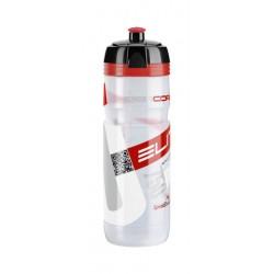 Borraccia Elite Supercorsa Trinkflasche 750ml clear/red