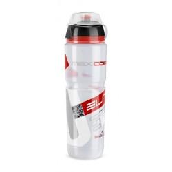 Borraccia Elite Maxicorsa MTB 1000ml clear/red