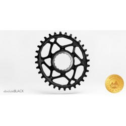 Corona AbsoluteBlack XX1 Style RaceFace Cinch Spiderless Ovale