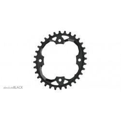 Corona AbsoluteBlack OVAL Ring SRAM N/W 94BCD Nera Specifica per X01