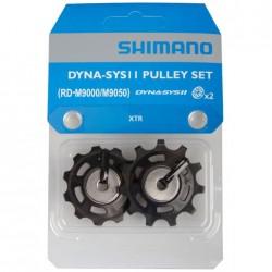 Shimano pulegge guida e tensione XTR 11 v. RD-M9000/9050