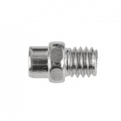 EXUSTAR perni di ricambio argento per E-PB525 confezione 100 pezzi