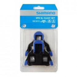Shimano tacchette SPD-SL SM-SH12 blu