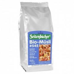 Seitenbacher Musli Bio -500g cereali mandorle intere e uva sultanina biologici