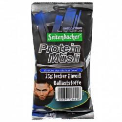 Seitenbacher Müsli Protein Müsli porzione in bustine da 50g contenenti 15g di proteine e gustosissima cioccolata a latte