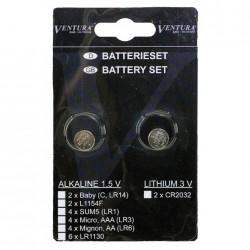 VENTURA batterie LR44 confezione da 2