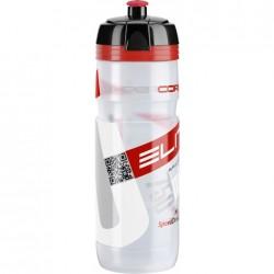 ELITE borraccia SUPER CORSA CLEAR 750ml con logo rosso