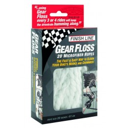 Finish Line Gear Floss Panno in microfibra 20 Pcs