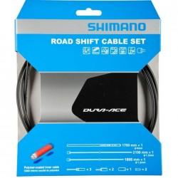 Shimano kit cavi cambio DURA ACE rivestiti con POLYMER