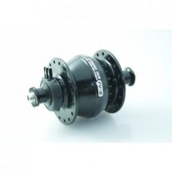 Shutter Precision mozzo con dinamo integrata PV-8 V-Brake 36 fori nero