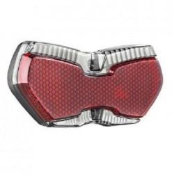 B&M fanalino LED TOPLIGHT View plus 50/80 mm Vario con luce di parcheggio automatica