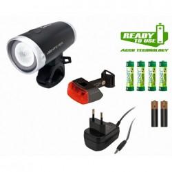 Sigma Sport kit luce ant. e post.LIGHTSTER + CUBERIDER II